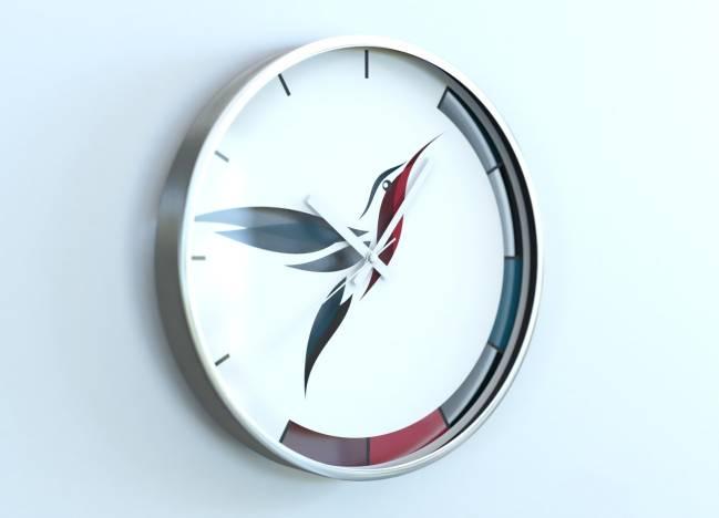 round clocks Colibri