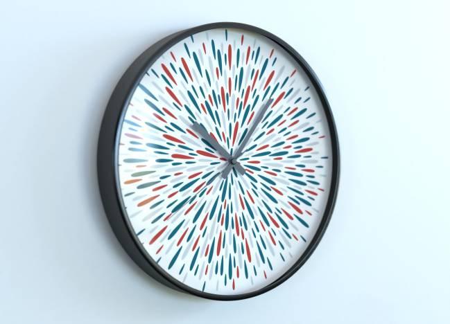 round clocks Éclats