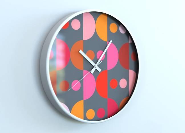 round clocks Géométrique