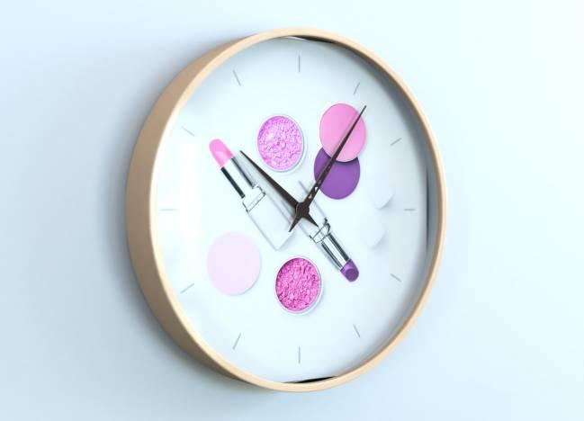 round clocks Maquillage