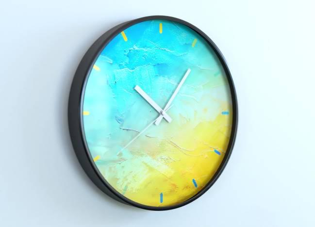 round clocks Peinture