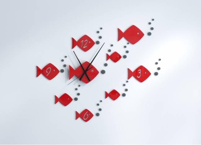 Wall Clocks Fish