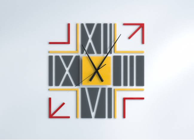 Wall Clocks Quadra